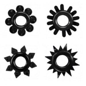 Cock Rings Set – Black