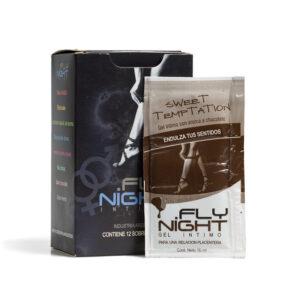 Sweet Temptation Sachet Fly Night sabor chocolate