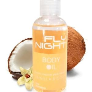 Body Oil Coco y Vainilla 100cc Fly Night