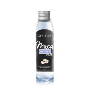 Body Oil efecto calor MACA 130ml Sexitive