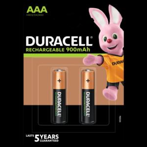 Pilas Duracell Recargable AAA por 2 Unidades